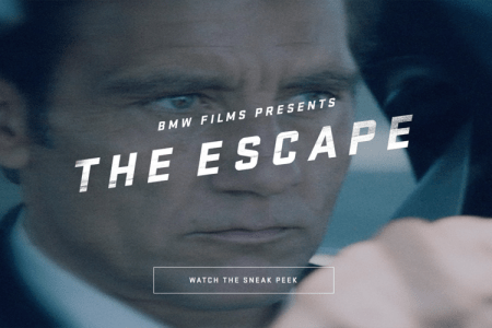 Clive Owen in The Espace van BMW Films trailer