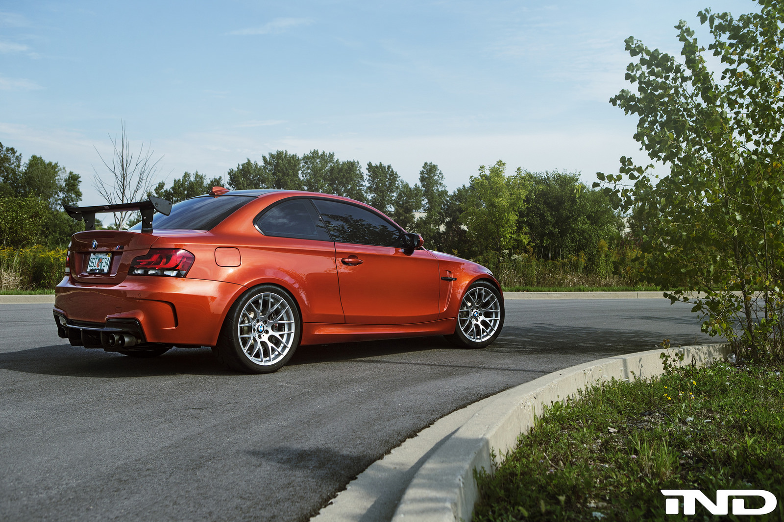 Valencia Orange Bmw 1m Tuned By Ind Distribution