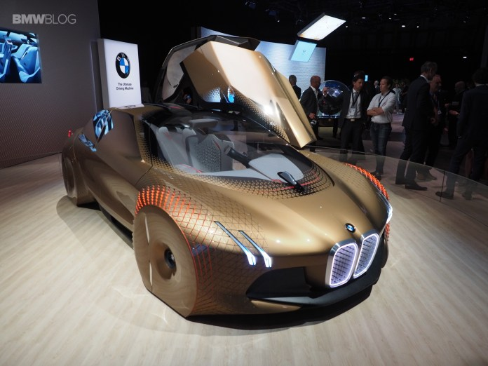 bmw concept cars - the bmw vision next 100