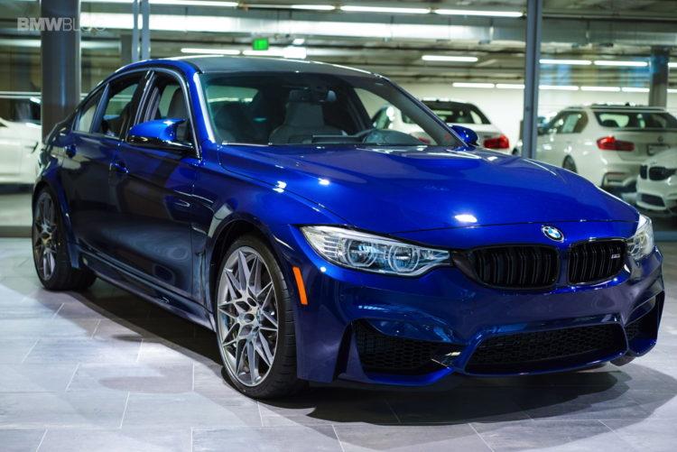 1 of 1: Blue Hera Mica Metallic BMW M3
