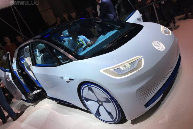Volkswagen Id Concept Car At Ces 2017