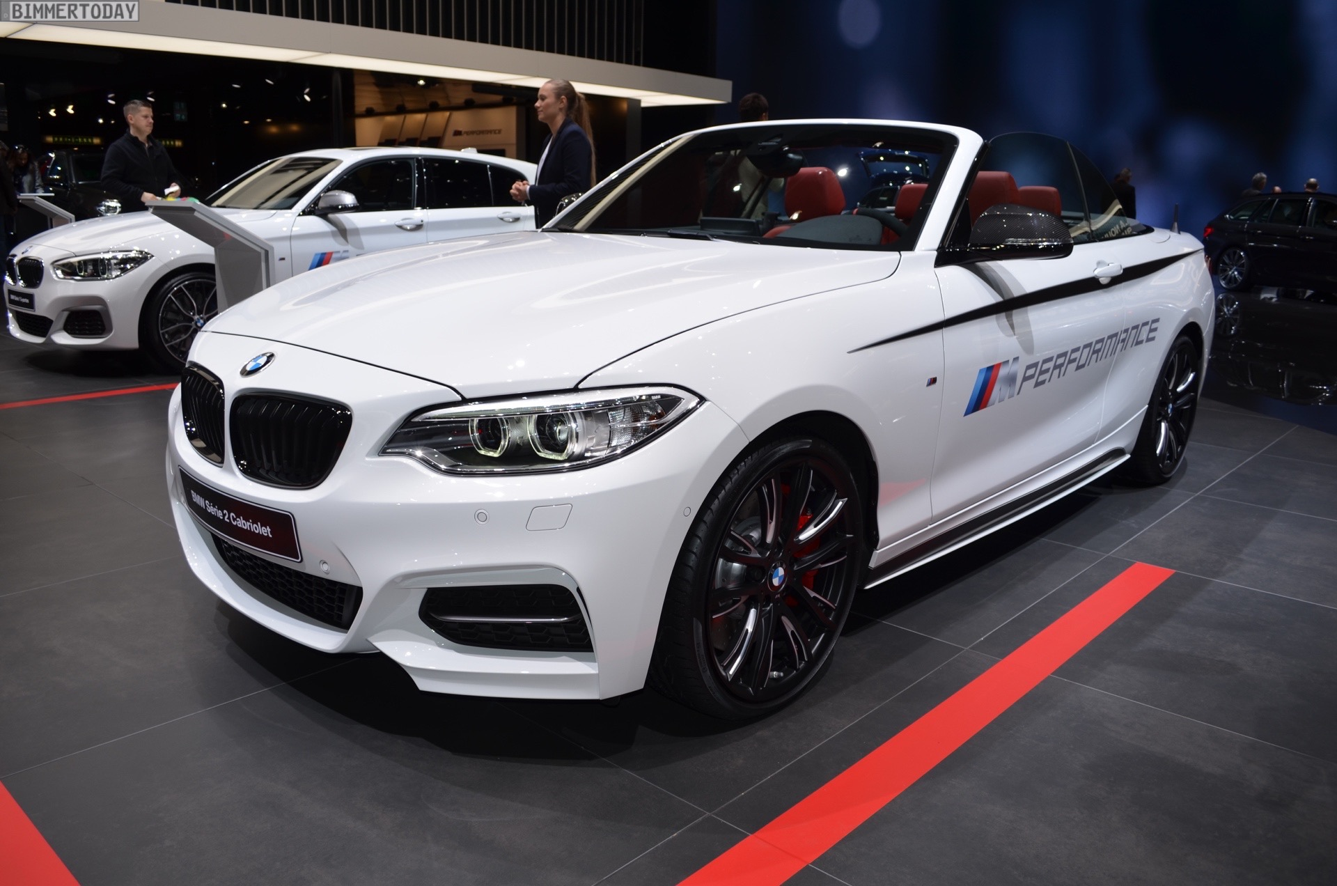 Bmw M Performancetuned M240i Convertible At Geneva