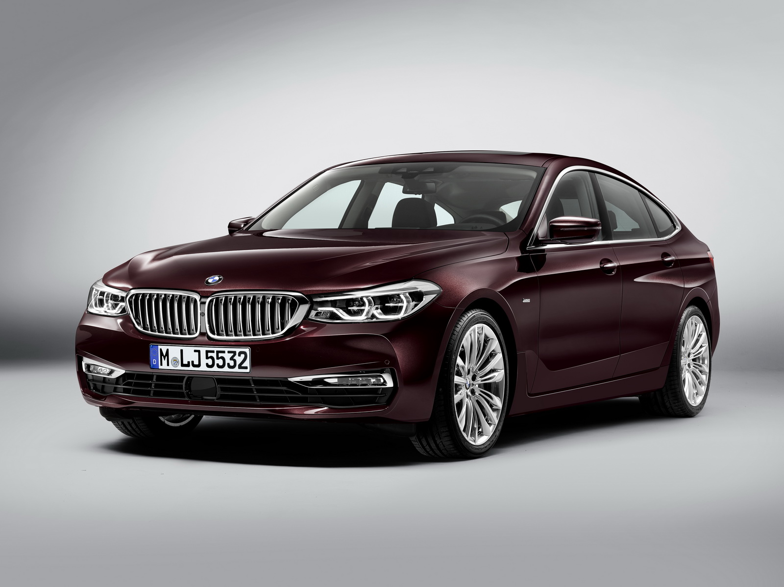 Leaked This Is The New Bmw 6 Series Gran Turismo