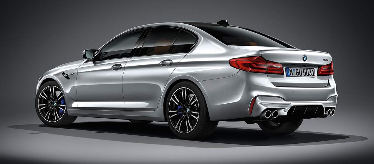 New BMW M5 In Different Color Options