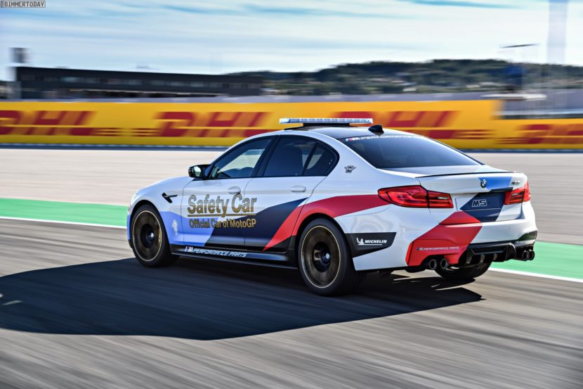 BMW M5 Safety Car 2017 MotoGP Valencia F90 06 830x553