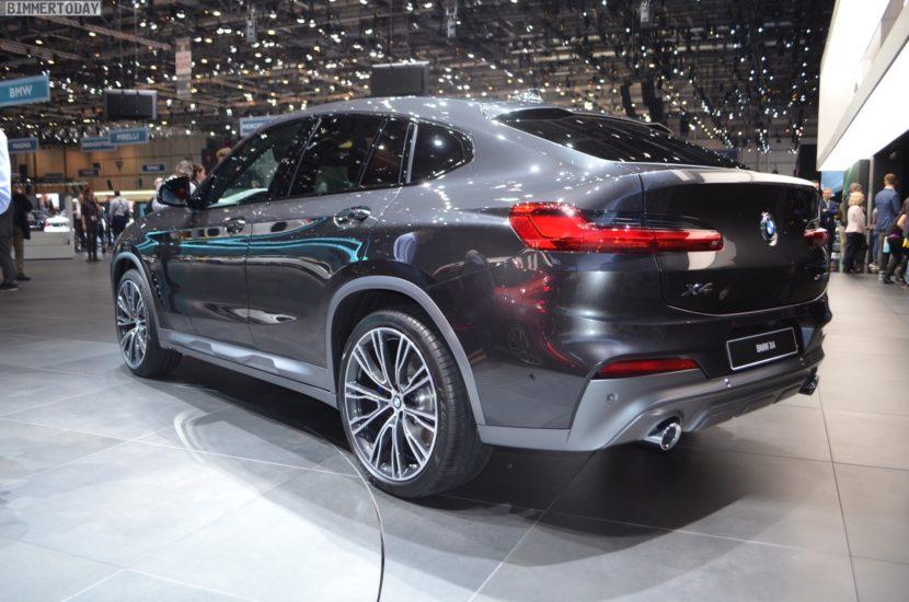 Genf 2018 BMW X4 G02 xDrive30i M Sport X Sophistograu Live 17 830x550