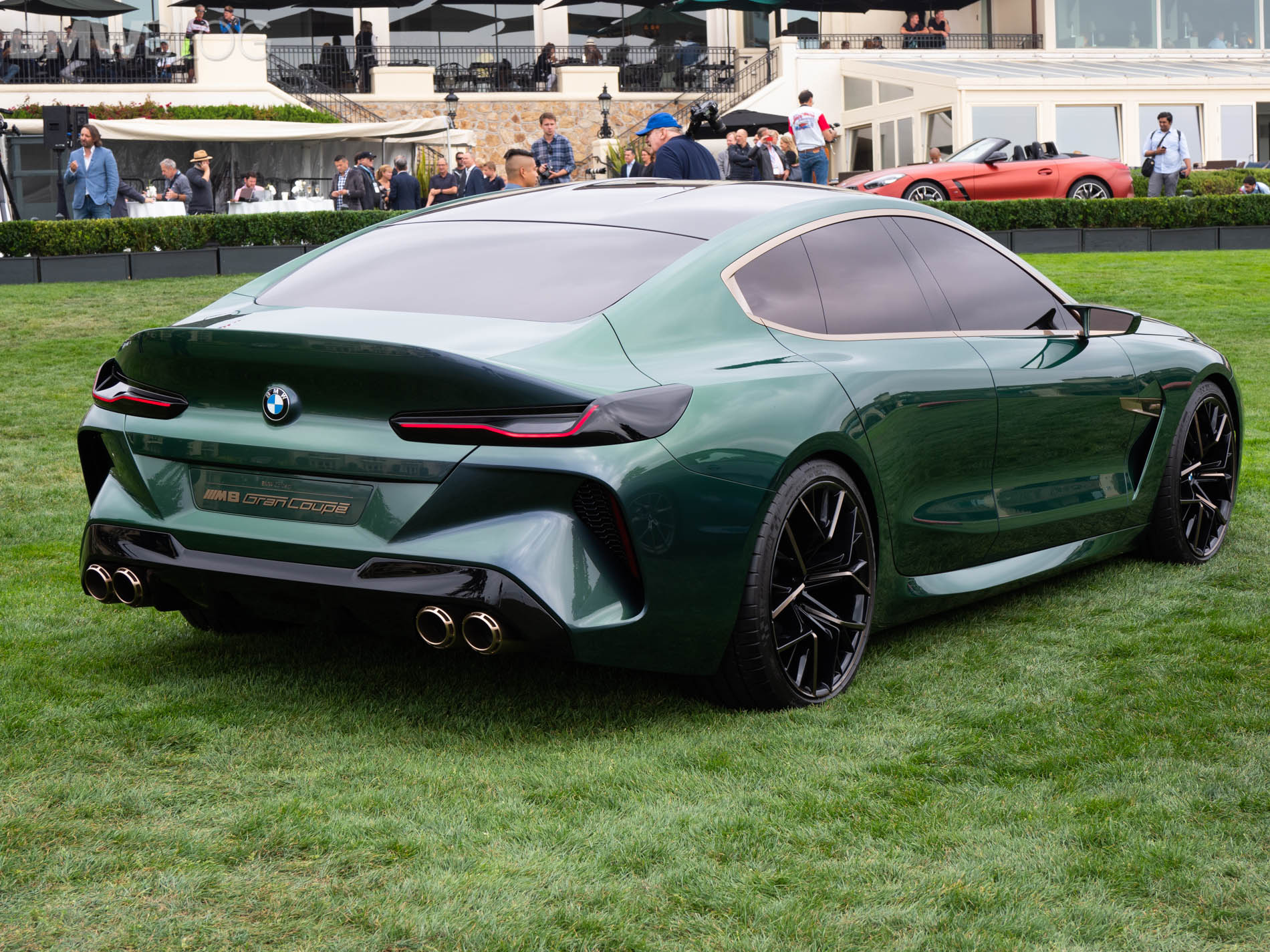 hight resolution of bmw m8 gran coupe concept pebble beach 21 830x623