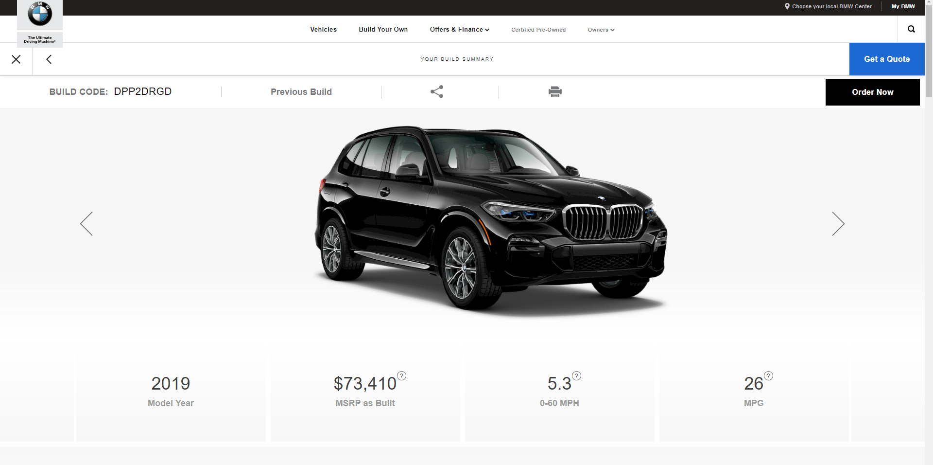 You can now configure the 2017 BMW 5 Series on BMW.de