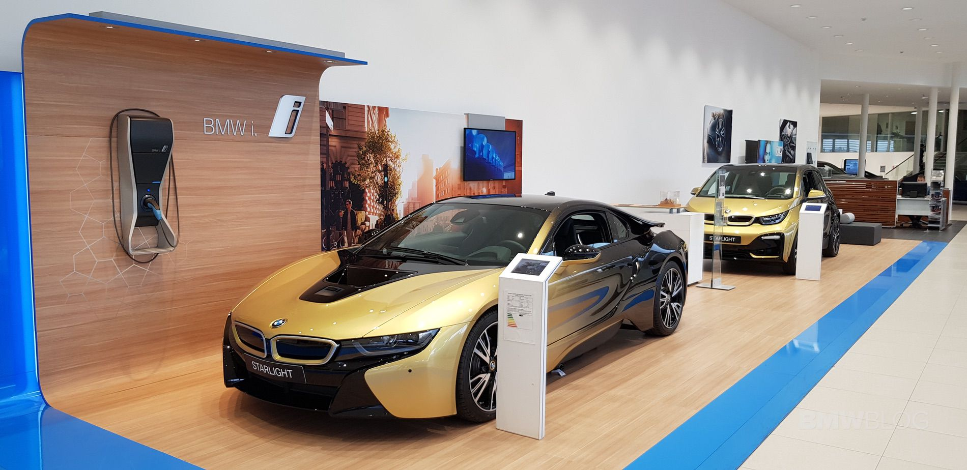 Bmw I3 And I8 Starlight Edition Now Up For Auction Website Of