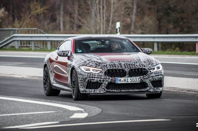 2020 bmw m8 spotted