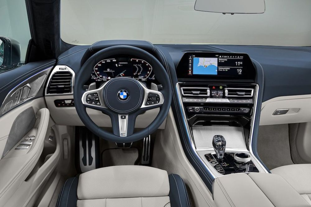 medium resolution of bmw 8 series gran coupe interior 01 830x554