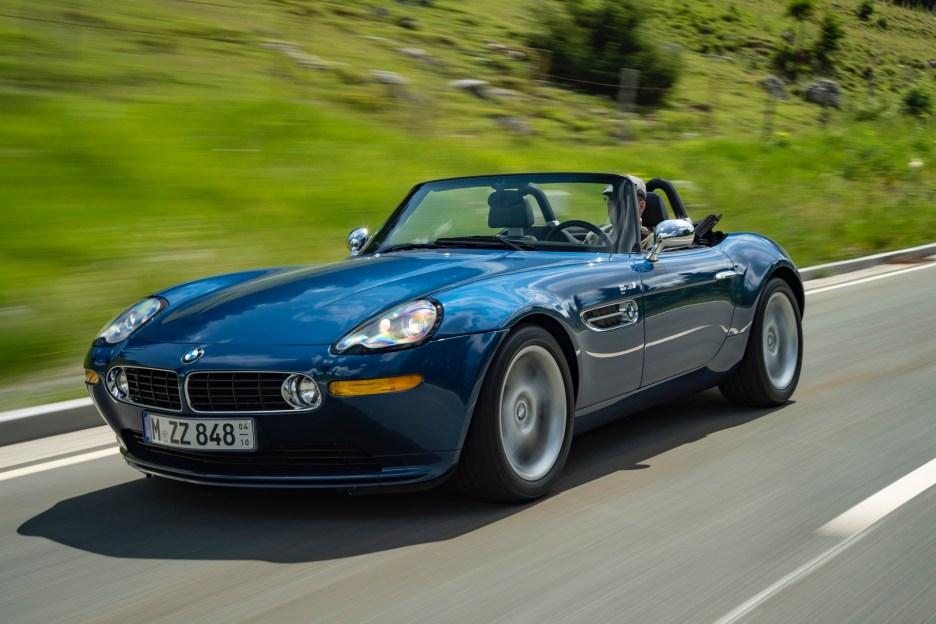 BMW Z8 test drive review 29