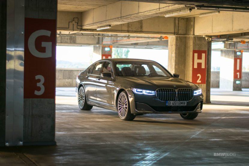 2020 BMW 745e test drive 47 830x553