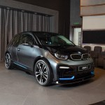 The 2020 Bmw I3s Featured In Mineral Grey At Abu Dhabi Dealership