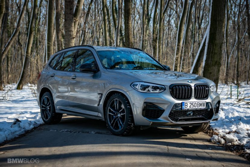 2020 BMW X3M Competition review test drive 94 830x553