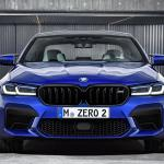 2021 Bmw M5 Facelift Renders Show The Front And Rear Of The F90 Lci