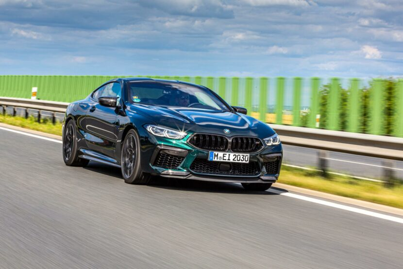 2020 bmw m8 competition oxford green 30 830x553