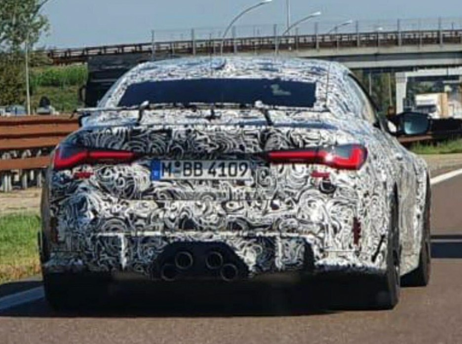 BMW M4 CSL Spy Photos 1