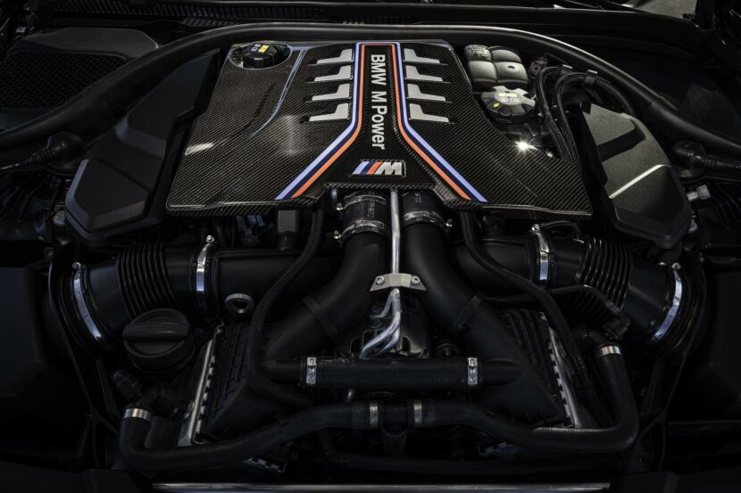 2021 bmw m5 cs engine 01 830x553