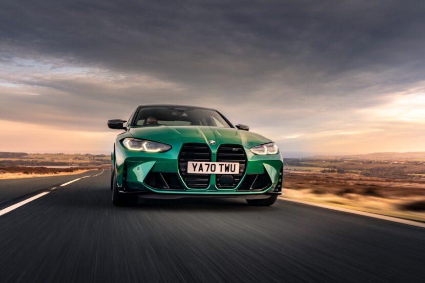 The New BMW M3 Competition Sedan UK 45 830x553