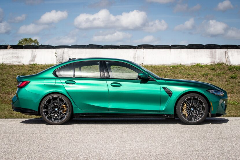 The New BMW M3 Sedan in the US 41 830x553