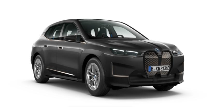 The New BMW iX Essence Titanium Bronze Sophisto Grey metallic 830x414