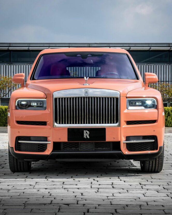 Dusty Coral Rolls Royce Cullinan 7 664x830