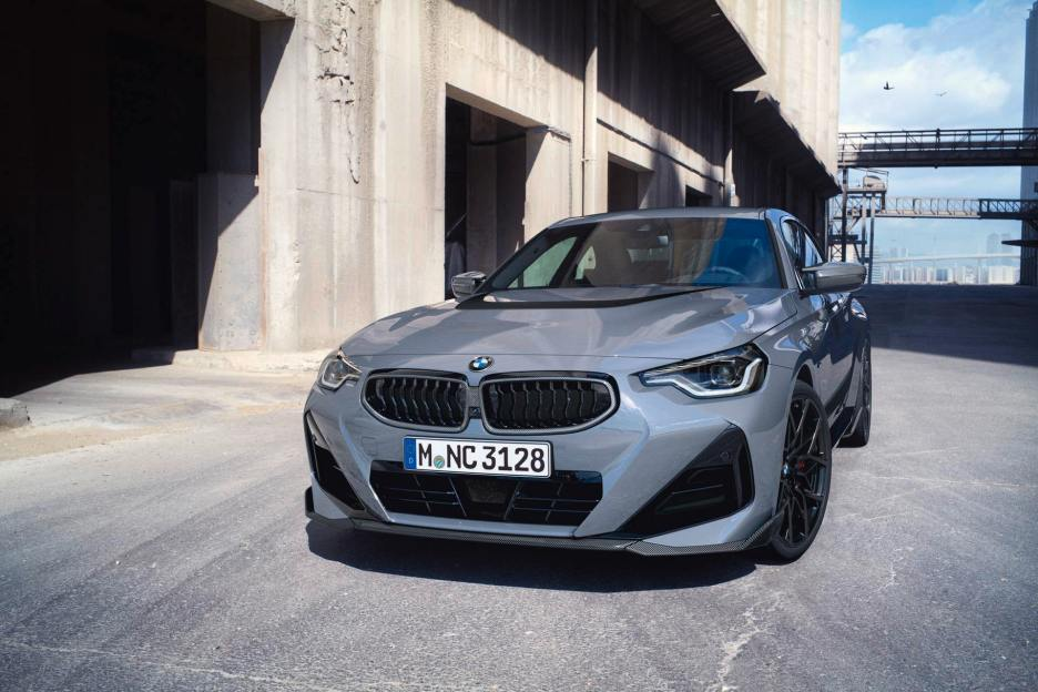 bmw 2 Series coupe m performance photos 04