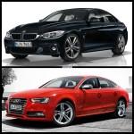 Photo Comparison Bmw 4 Series Gran Coupe Vs Audi S5 Sportback