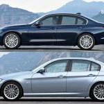 Photo Comparison F30 Bmw 3 Series Vs E90 3 Series