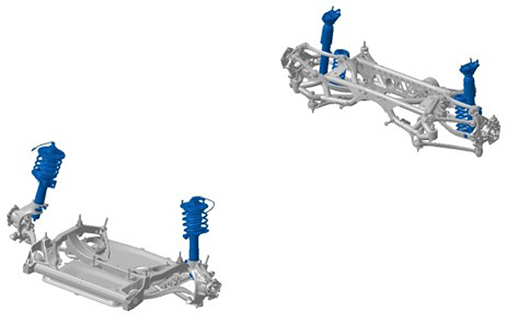 BMW M3 and BMW M4 Inside: The new chassis
