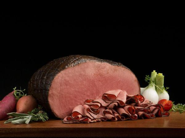 Seasoned Filet of Roast Beef CapOff Top Round Boar39s Head