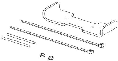 Humminbird In Dash Mounting Kit for PiranhaMAX 4 740156-1