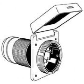 Marinco/AFI/Guest Marine 4-Wire Stainless Steel Locking