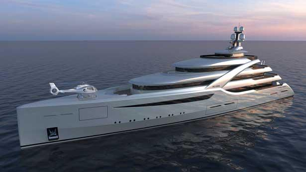 ICONH2 85m Superyacht Concept Based On Improved MCA