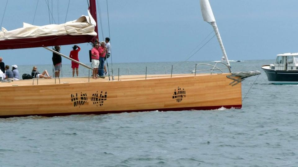 The First Frank Gehry Designed Sailing Yacht Foggy Is