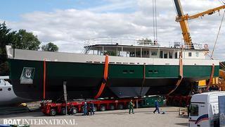 Sailing Yacht Cosmoledo Launched By Alu Marine Boat