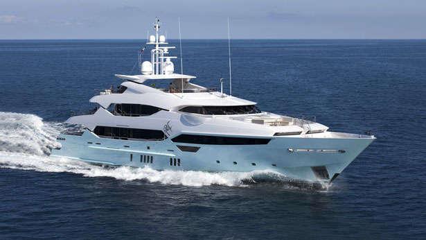 Eddie Jordans 47m Sunseeker Yacht Blush Boat International
