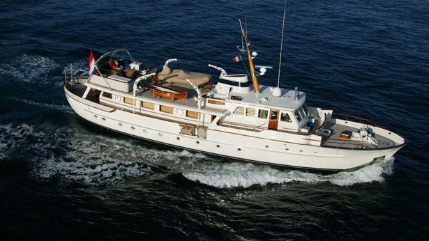 Fraser Yachts Lists Classic Feadship Motor Yacht Najade