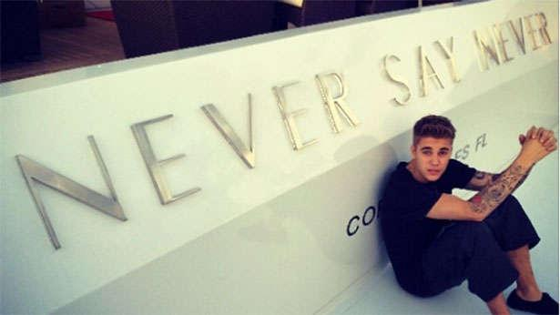 Justin Bieber On Never Say Never Yacht Boat International