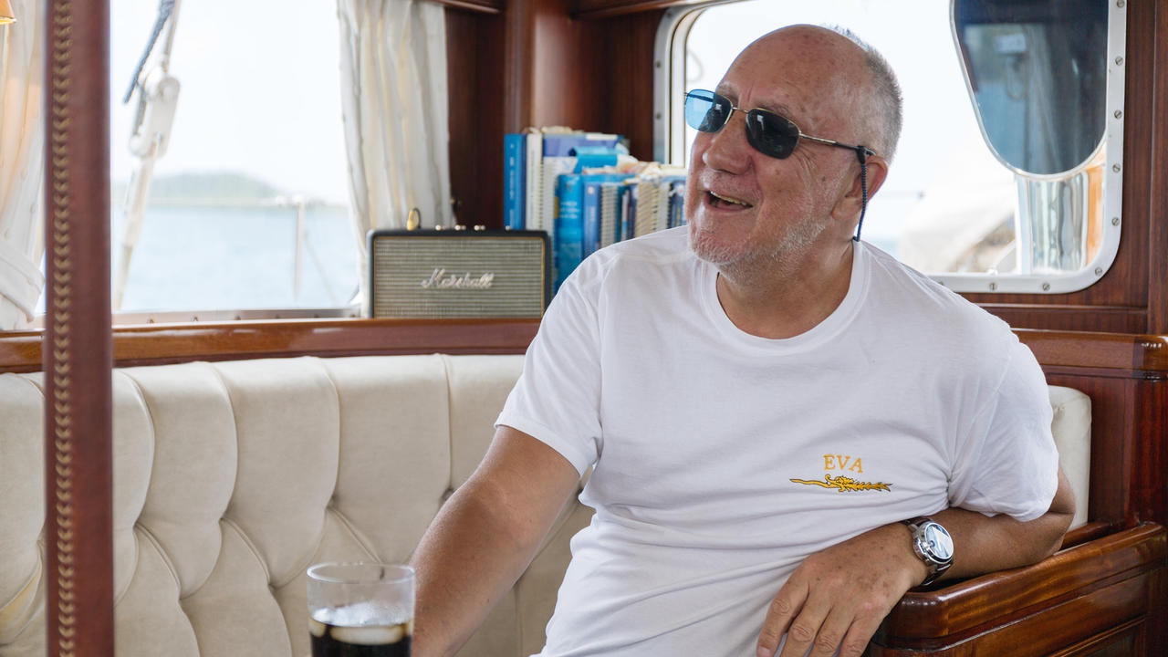 On Board With Celebrity Sailing Yacht Owner Pete Townshend