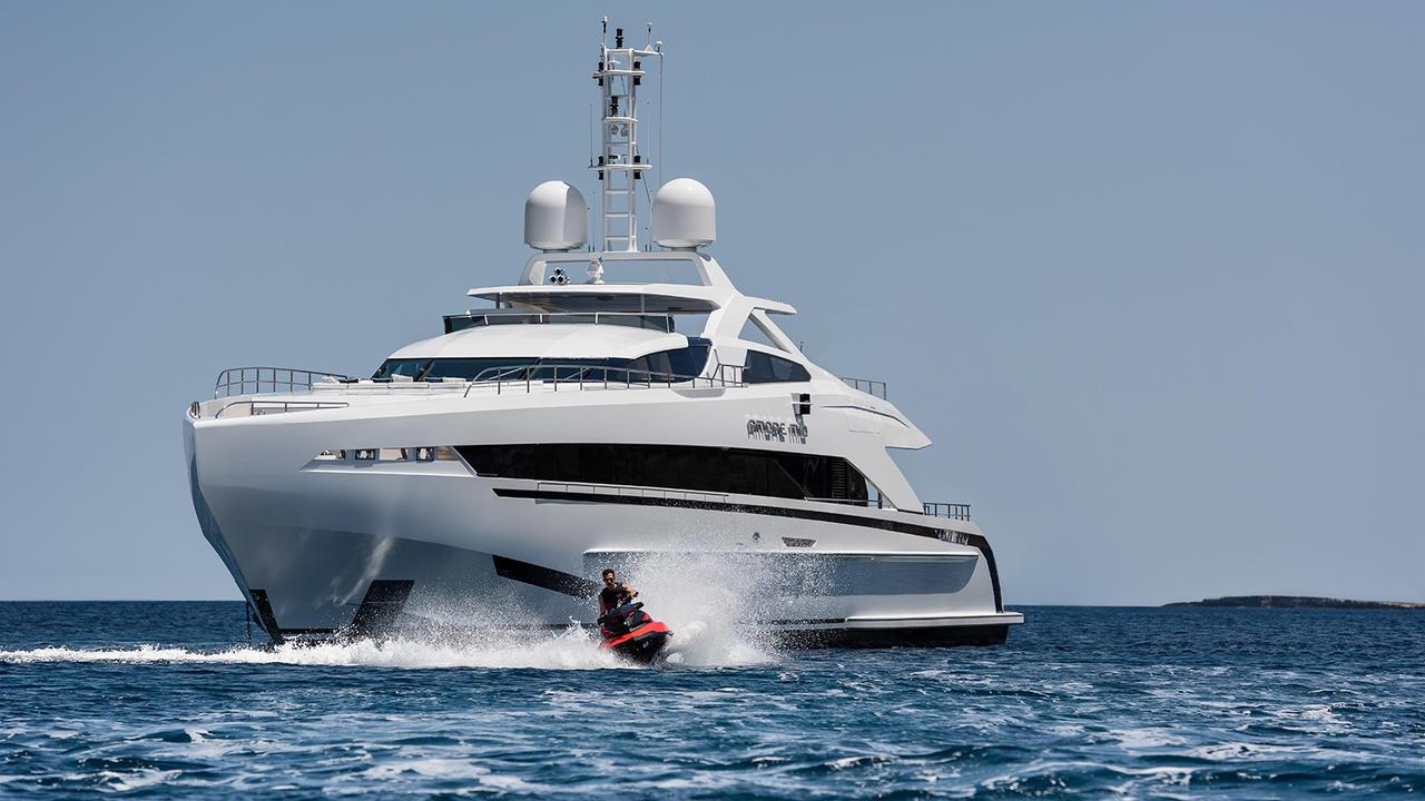 Amore Mio Inside The First Aluminium 45m Heesen Yacht