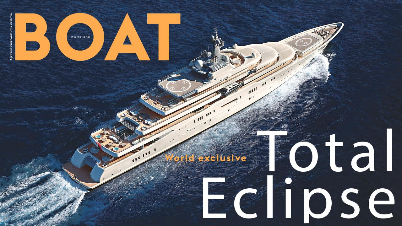Get An Exclusive Look On Board Superyacht Eclipse Boat