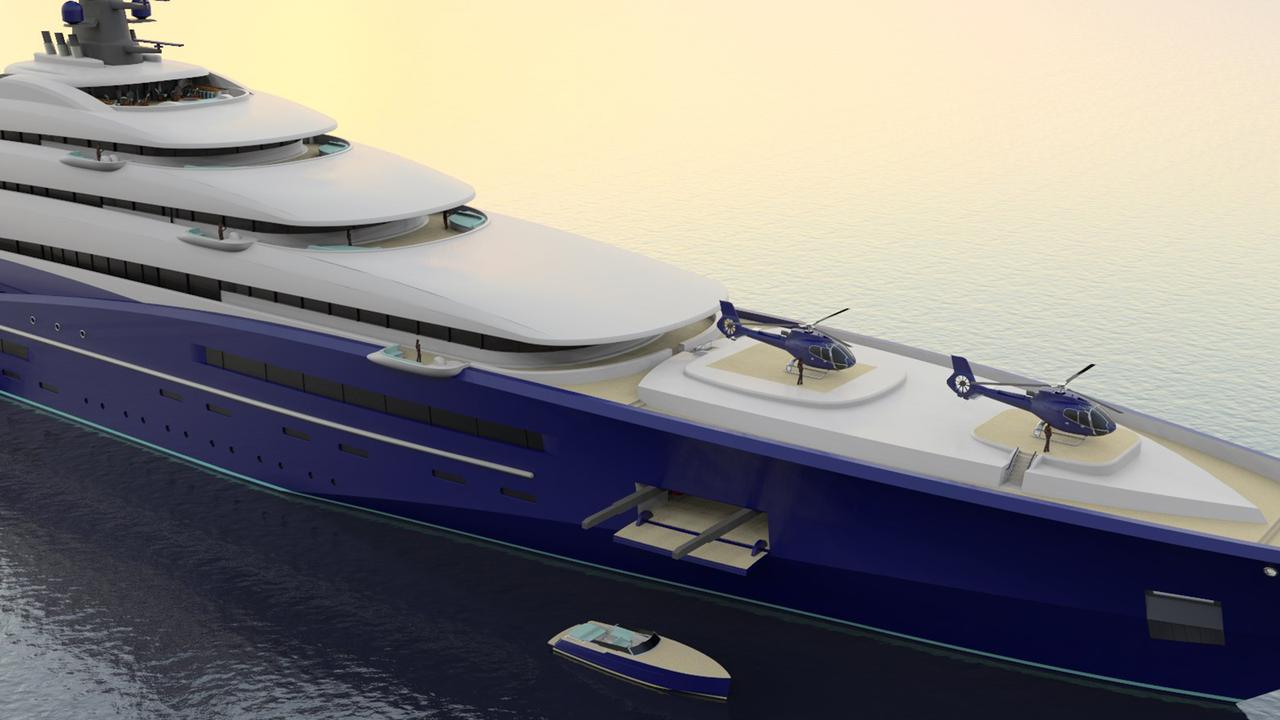 Double Century 4 Crazy Design Features From 200m Yacht