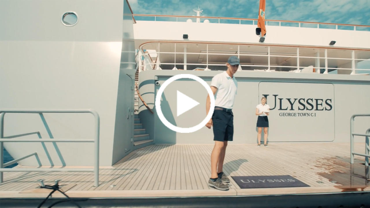 Video Life On Board 107m Explorer Yacht Ulysses Boat