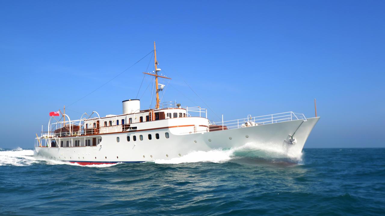 How Malahnes Refit Restored Her 1930s Splendour Boat