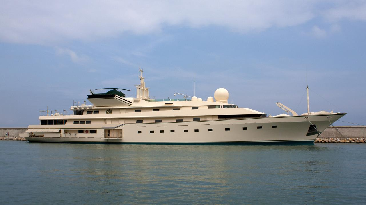 KINGDOM 5KR Yacht Was TRUMP PRINCESS Boat International