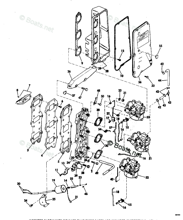 Evinrude Outboard Parts by Year 1973 OEM Parts Diagram for