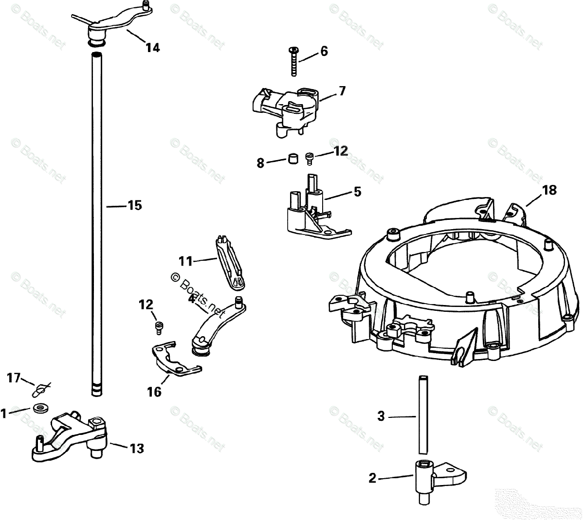 Evinrude Outboard Part Diagram