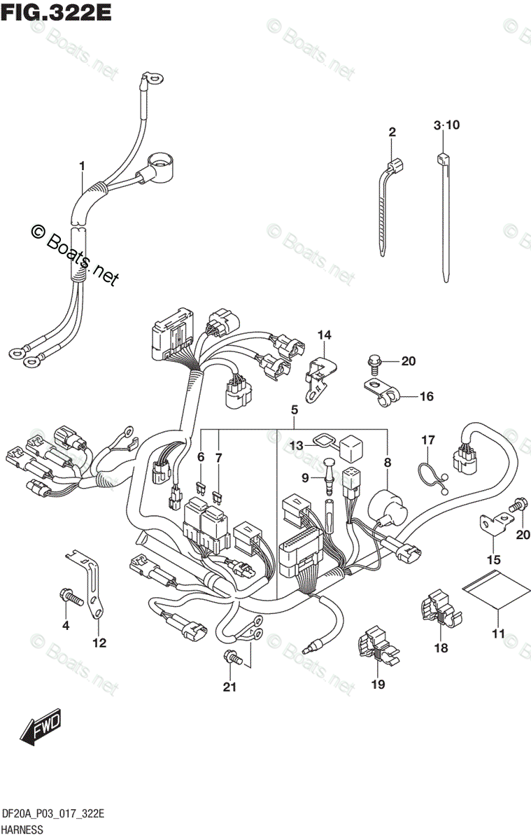 Suzuki Outboard Parts by Year 2017 OEM Parts Diagram for